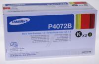 P4072B  TONERKARTUSCHE, SCHWARZ, DOPPELPACK, JE 1,5K